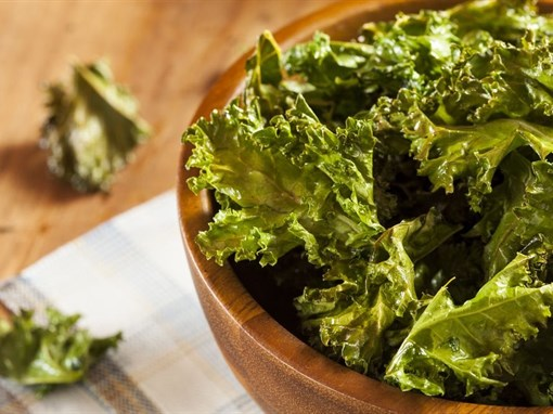 Super Simple Kale Chips