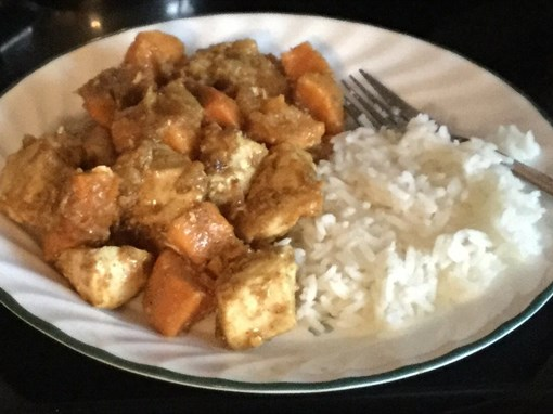 Chicken and Yam Curry