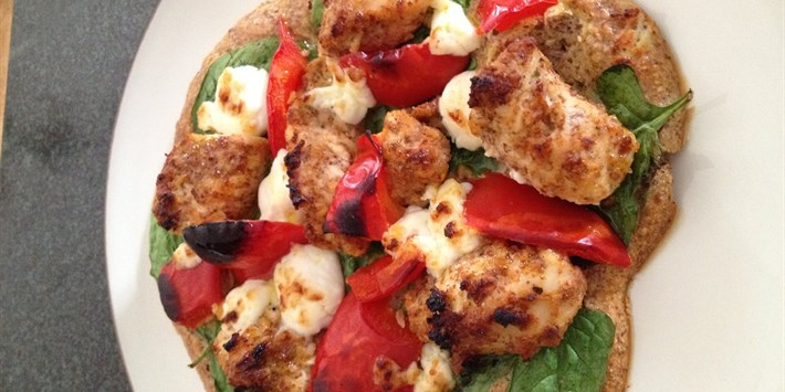 Personal Protein Pizza