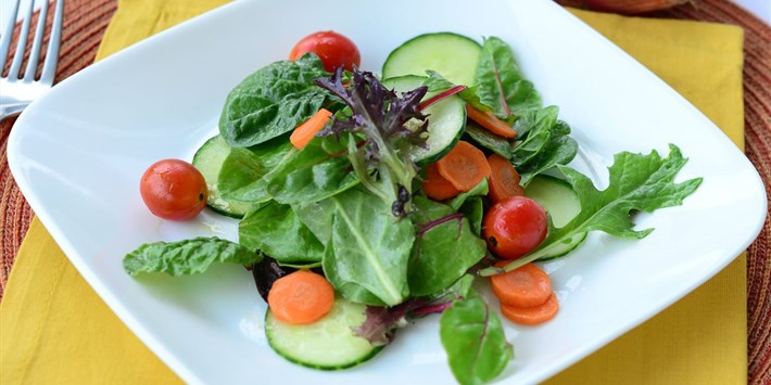 Simple Small Side Salad | Beyond Diet Recipes