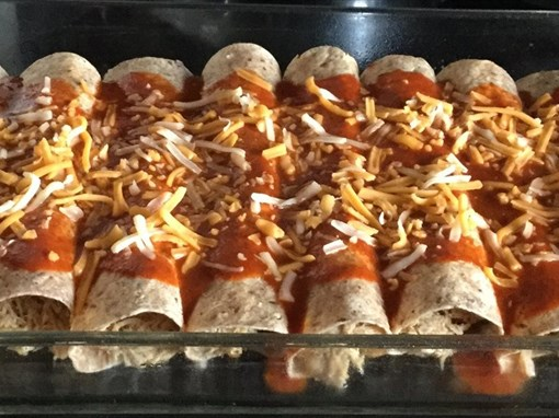 Crock Pot Chicken Burritos