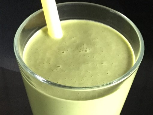 Go Green Peanut Butter Smoothie